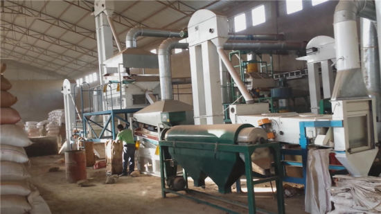Sesame Bean Pulses Grain Seed Cleaning Plant (5X) pictures & photos