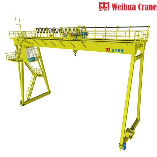 Weihua Crane European Standard 10 Ton 20 Ton 30 Ton 40 Ton Automated Gantry Crane