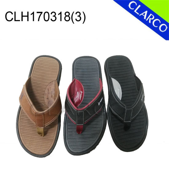 Men Fashion Flip Thongs Slipper pictures & photos