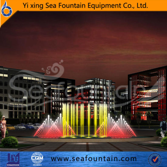Changeable LED Light Decorative Program Control Fountain pictures & photos