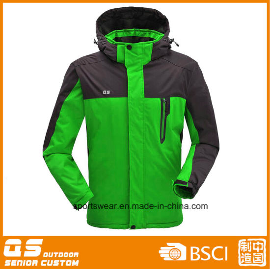 Men′s Fashion Windproof Ski Jacket pictures & photos