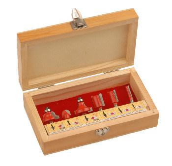 Woodworking Tools - 6PCS Tct Router Bit Set B