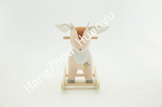 Labebe Wooden Rocking Horse Animal-Deer Ride on Toys pictures & photos