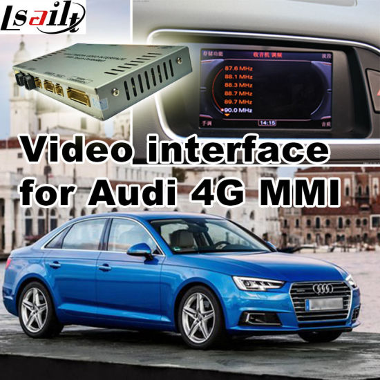 China Car Video Interface for Audi 4G Mmi 2017 A4 Q7, Android