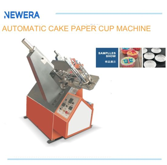 Automatic Egg Cake Disposable Paper Cup Tray Forming Machine