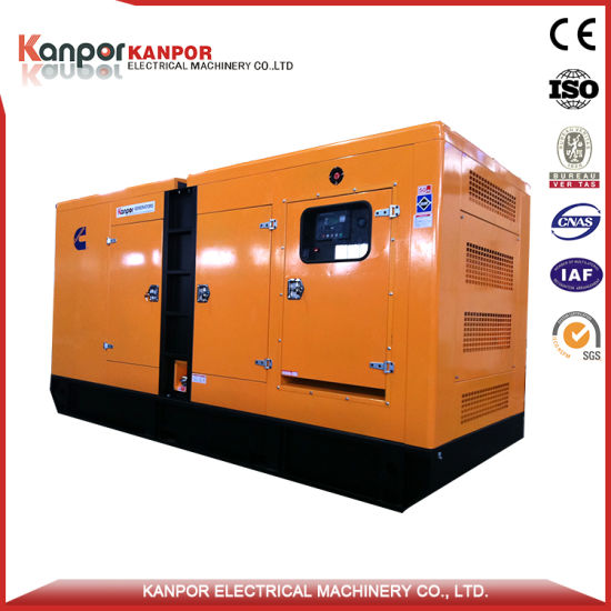 Cummins 500kw 625kVA Diesel Generator Set Kanpor (CE ISO9001 BV) Open Type or Silent Type Generator pictures & photos