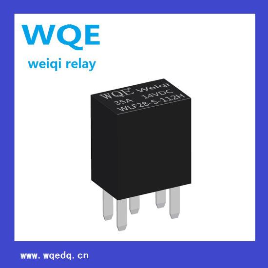 (WLF28) PCB Relay Auto Parts (WLF28) Use for Automotive Fuel Pump, a / C Compression Clutch