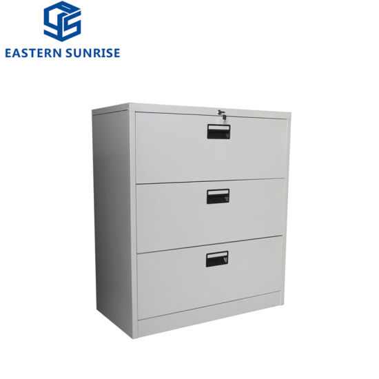 China Best Ing Lockable 3 Drawer Metal Storage Cabinets For