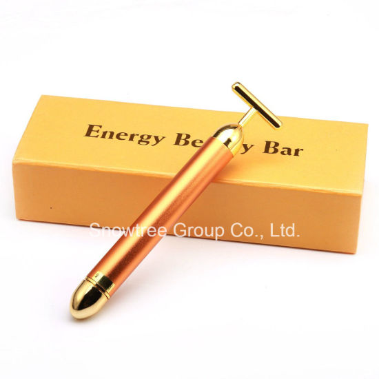 Portable Personal Massager 24k Gold Energy Beauty Bar pictures & photos