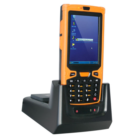 Window Ce mobile Barcode Scanner with NFC RFID Reader pictures & photos