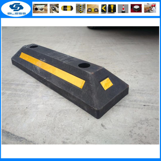 Competitive Reflective Garage Floor Parking Stops pictures & photos
