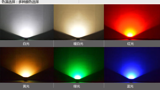 IP65 100W RGB COB LED Flood Light with Sensor pictures & photos