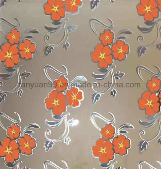 Ice Acid Etched Frosted Decorative Glass