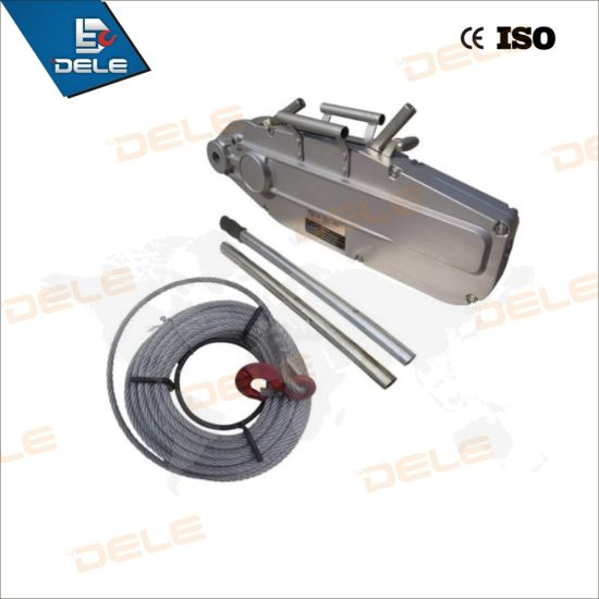 China Lever Pull Wire Rope Pulling Hoist - China Wire Rope Winch ...