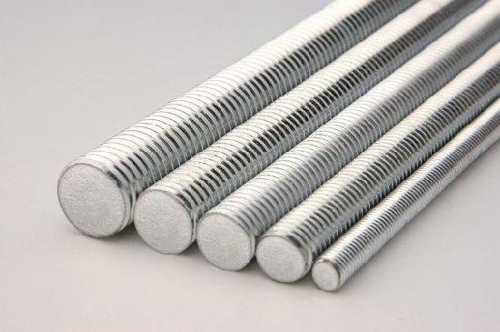 Threaded Rod Threaded Bolt Carbon Steel Zinc Plated