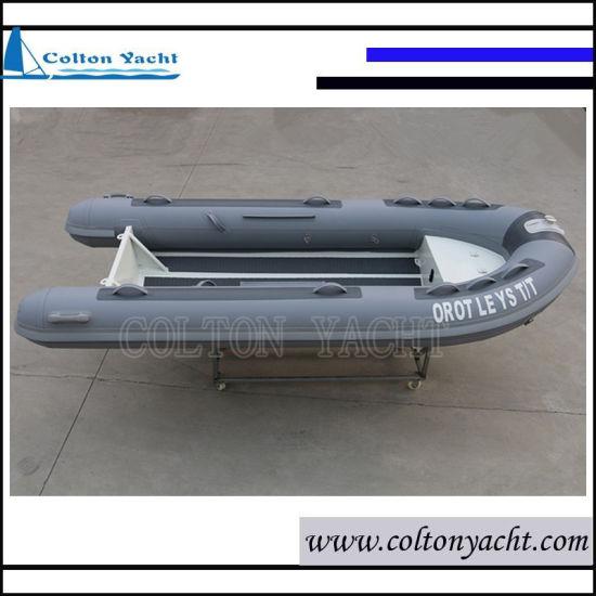 360cm Aluminum Rib Boat with PVC or Hypalon Tube