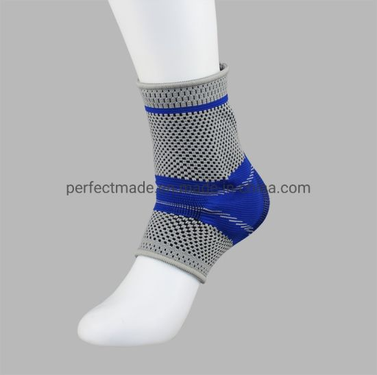 Customized Logo Knit Foot Sleeves Medical Ankle Socks