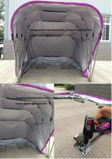 Portable Foldable Mobile Auto Car Shelter Garage Parking Carport Tent pictures & photos