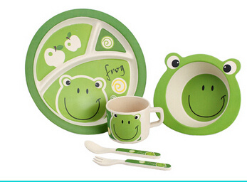Hot-Sell Bamboo Fibre Children Dinnerware (BC-BB-SU2004) pictures & photos