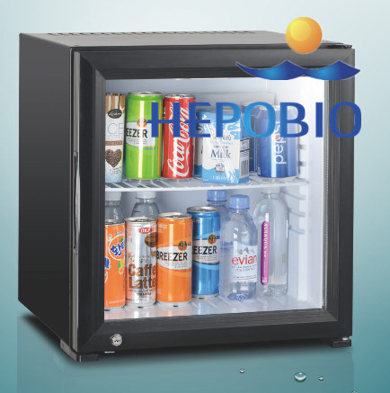 Ce Economical Mini Bar Fridge Hospital/Hotel Silent with High Quality (40L) DC 12V /AC pictures & photos