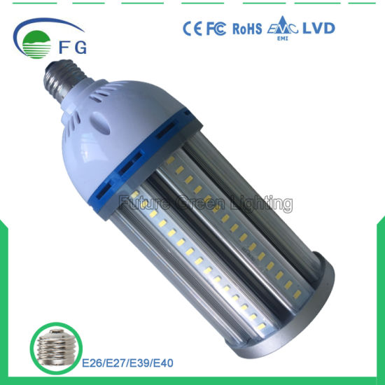 Energy-Saving 27W/36W/45W/54W/65W/80W/100W/120W LED Corn Light Bulb with Ce RoHS 3years Warranty pictures & photos