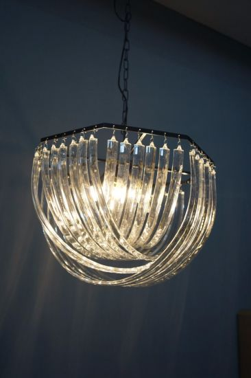 Modern Crystal Living Room Decorative Chandelier (KR0116P-5R) pictures & photos