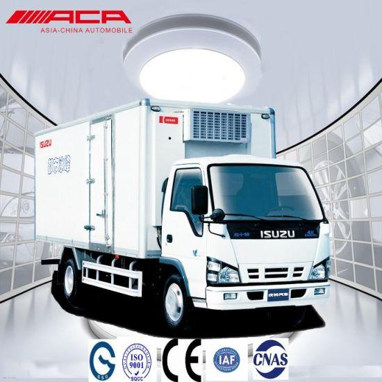 Isuzu 600p 7t Single Row Light Commercial Van Cargo Truck