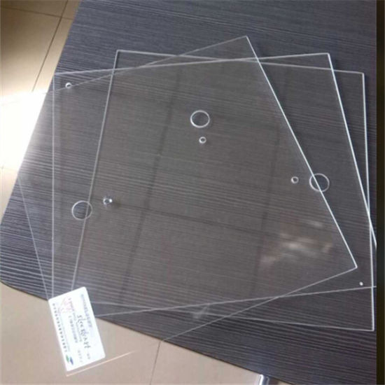 Customized Anti-Heat Clear Borosilicate Glass for Microwave Oven pictures & photos