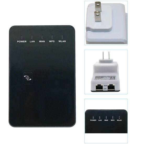 Popular! Mini WiFi Repeater Extend 300m WiFi 300Mbps 802.11b/G/N Wireless Router Network pictures & photos