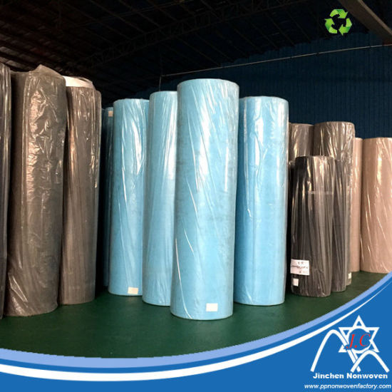 Standard Width 1.6m 2.4m Assorted Color 100% Virgin PP Spunbond Nonwoven Fabric pictures & photos