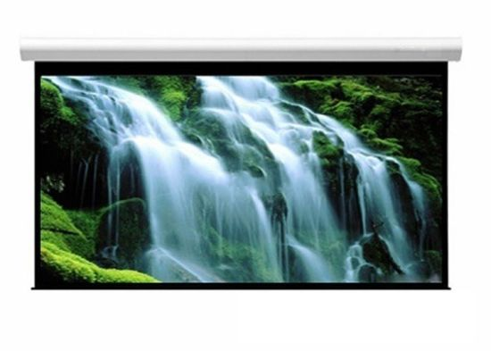 China 60 Inch Wall Mount Office Projector Matte White Electric