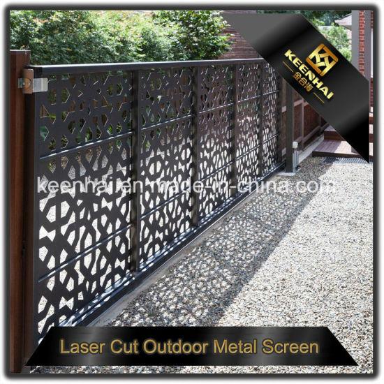 Customized Laser Cut Outdoor Metal Garden Fencing (KH BH AP 005)