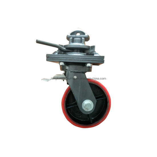 Easy Lock 2 Ton ISO Shipping Container Caster Wheel