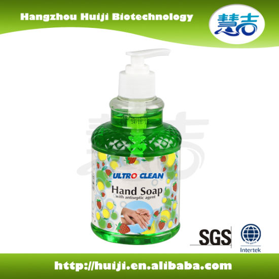 Hostpital Antiseptic Hand Wash Liquid Soap with Aloe Vera pictures & photos