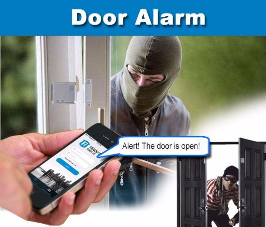 Smart Home Security GSM GPS Alarm System, Wholesale GSM Magnetic Door  Sensor Alarm, Universal Wireless GPS Door Alarm