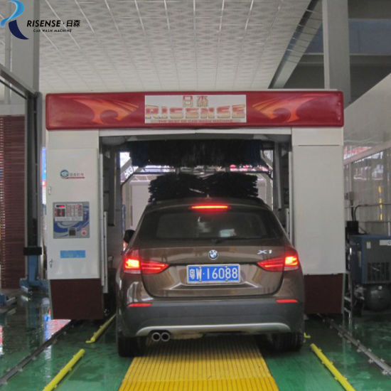 Low Price Fully Automatic Rollover Car Washing Machine Intelligent Digital Control System
