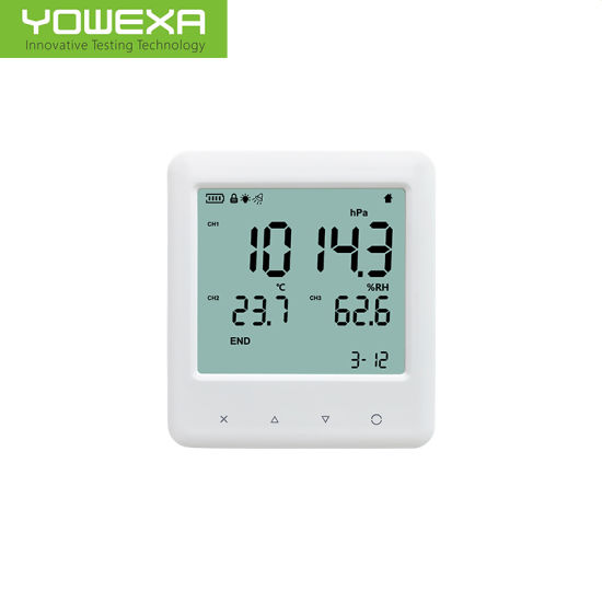 Room Air Pressure Temperature and Humidity Monitor for Hospital and Laboratory