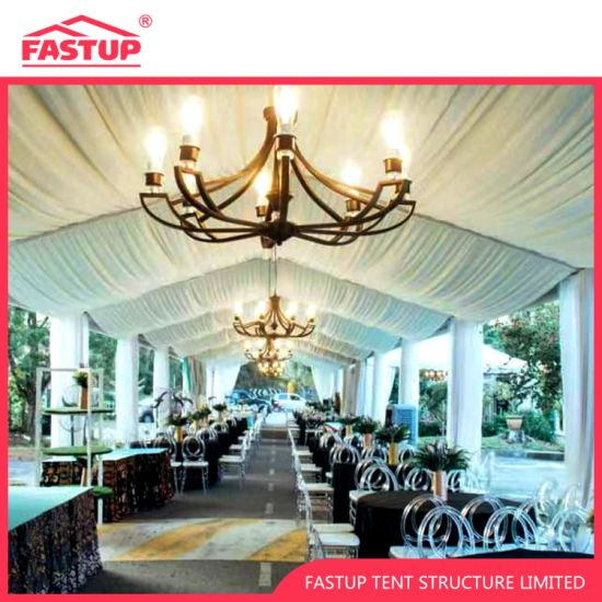 Beautiful Wedding Party Tent with Linings and Curtains