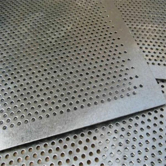 Stainless Steel Perforated Metal Sheets pictures & photos