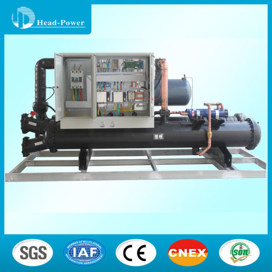 60ton Industrial Screw Water Cooled Chiller