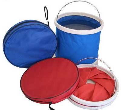 Portable Car Washing Kit Folding Bucket pictures & photos