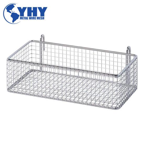 480L X 250W X 50h mm Metal Shopping Basket