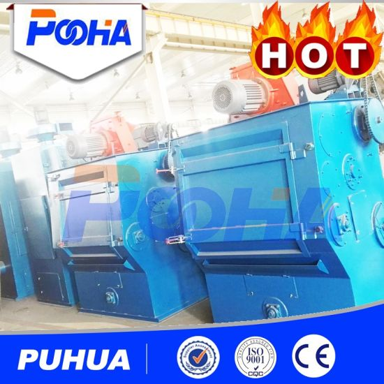Q32 Series Steel Rubber Tracked Type Shot Blasting Machine for Iron Castings pictures & photos
