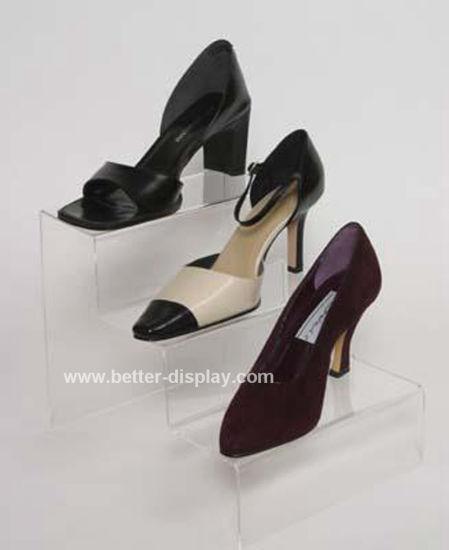 Clear Acrylic Steps Shoe Holder Btr-G1027