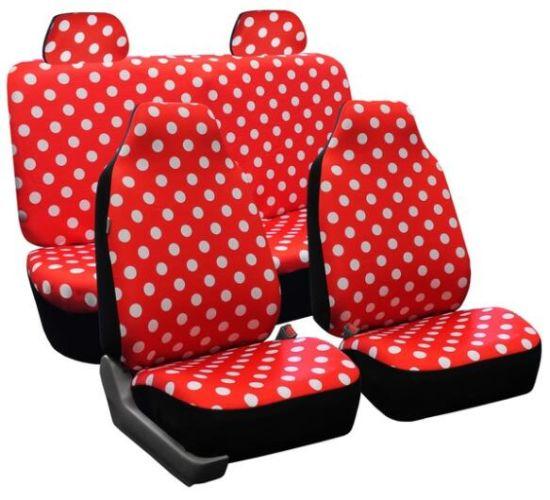 China Universal Fit 6PCS Full Set Round Spot Pattern Polyester ...