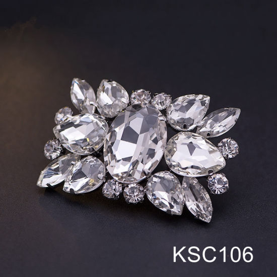 New Design Rhinestone Shoe Clips Fashion Crystals Ornaments for Women Shoes  pictures   photos ff727ffd22e7