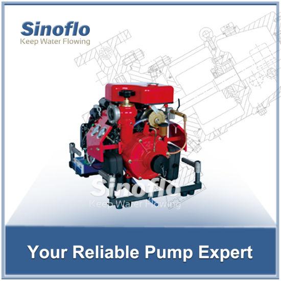 27HP Honda Portable Gasoline Engine Self-priming Fire Water Pump