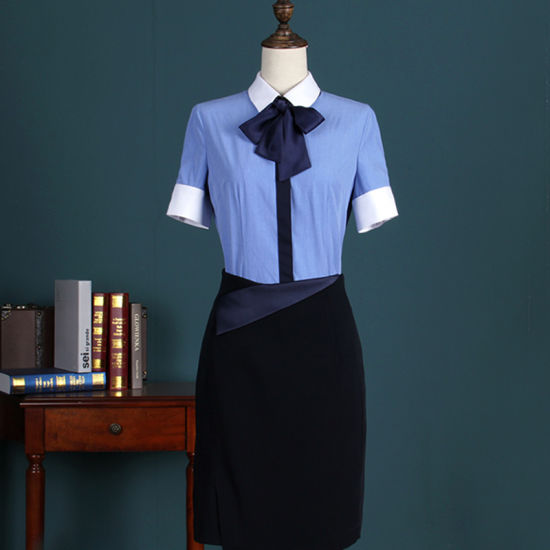 fb58d371768f65 Ladies Office Work Shirt  Blue Ladies Formal Shirts Designs pictures    photos