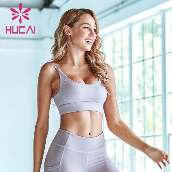 Fitness Clothing Custom Crop Tank Top Gym Wear Yoga Women Sports Bra