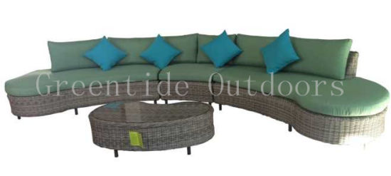 All Weather Outdoor Wicker Rattan Garden Furniture Sofa Set 4PCS pictures & photos